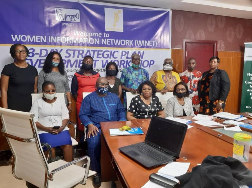 Participants in Strategic Plan Development Workshop